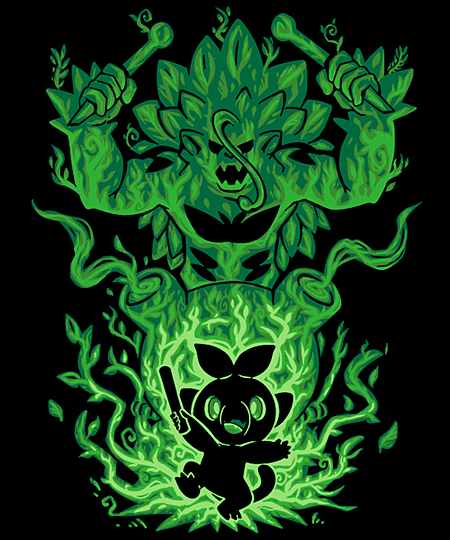 Qwertee: The Grass Gorilla Within