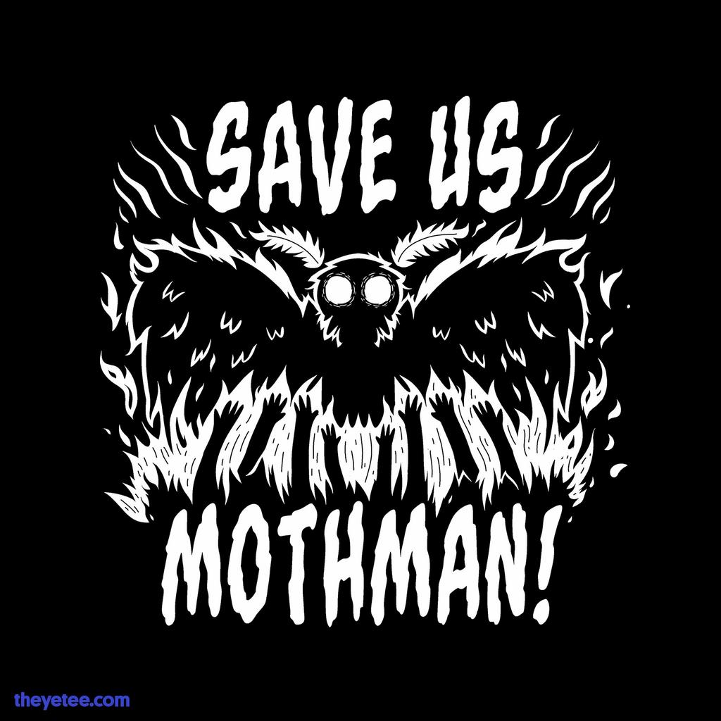 The Yetee: Save us Mothman