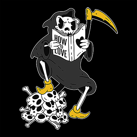 MeWicked: Grim Reaper - Funny Vintage Cartoon Style - How to Love