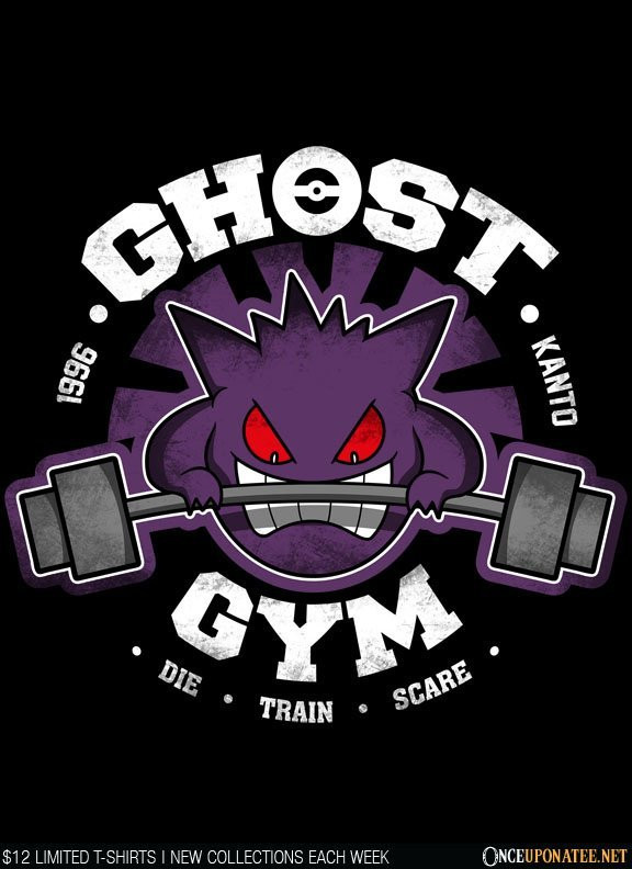 Once Upon a Tee: Ghost Gym