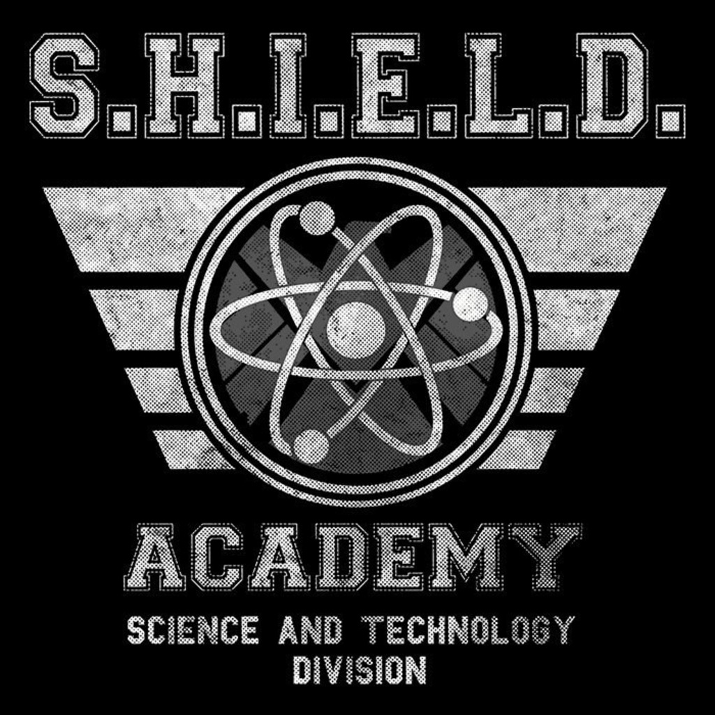 We Heart Geeks: SHIELD University - Men's T-Shirt