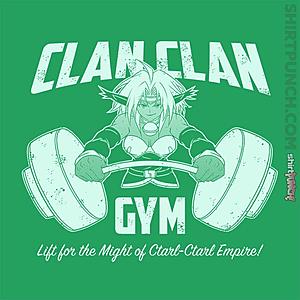ShirtPunch: Clan Clan Gym