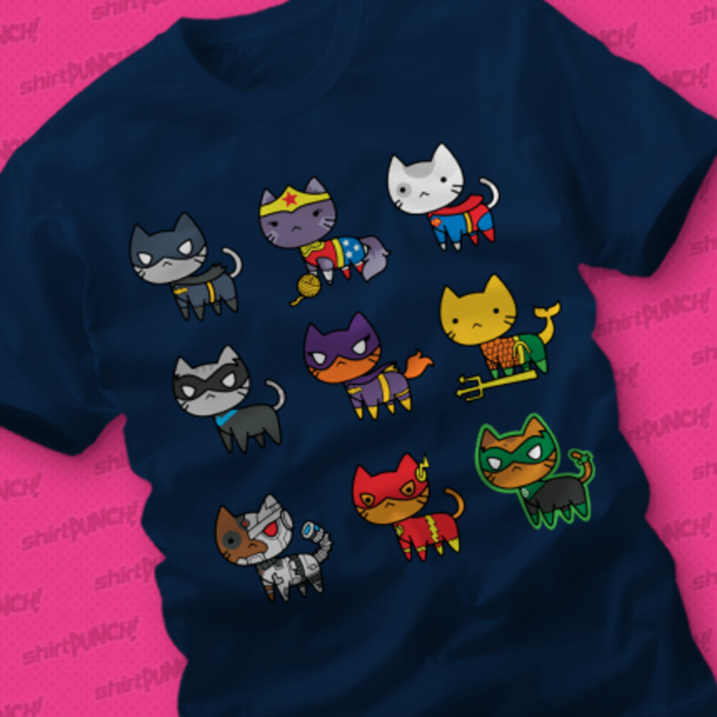 ShirtPunch: Cats of Justice