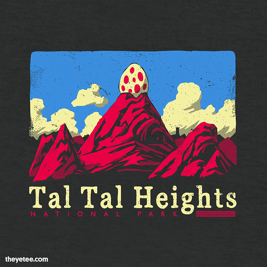The Yetee: Tal Tal Heights National Park
