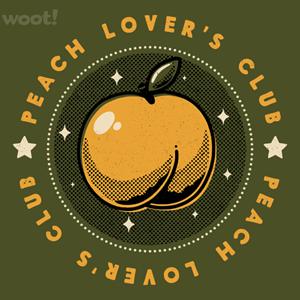Woot!: Peach Lover's Club