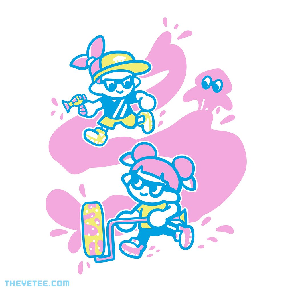 The Yetee: Paint Me Up