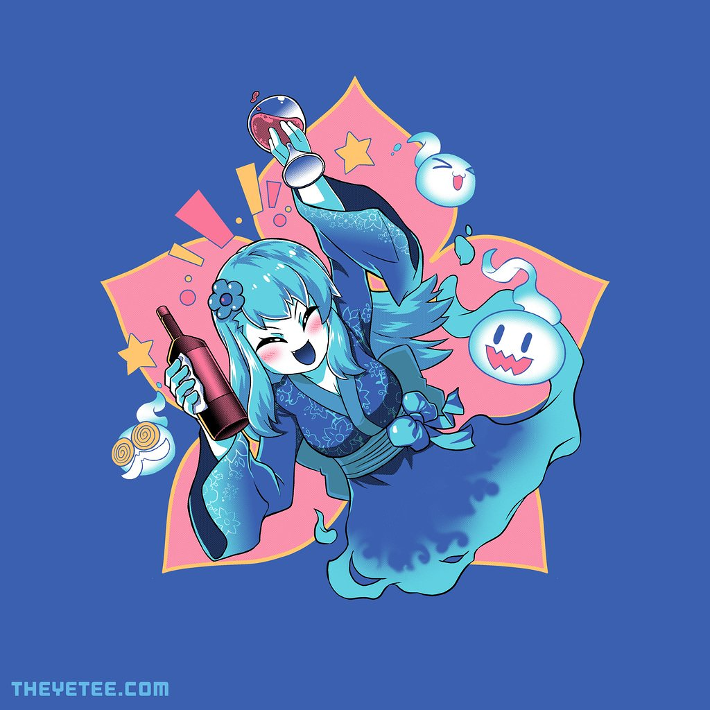 The Yetee: Wine and spirits by Coinbox Tees