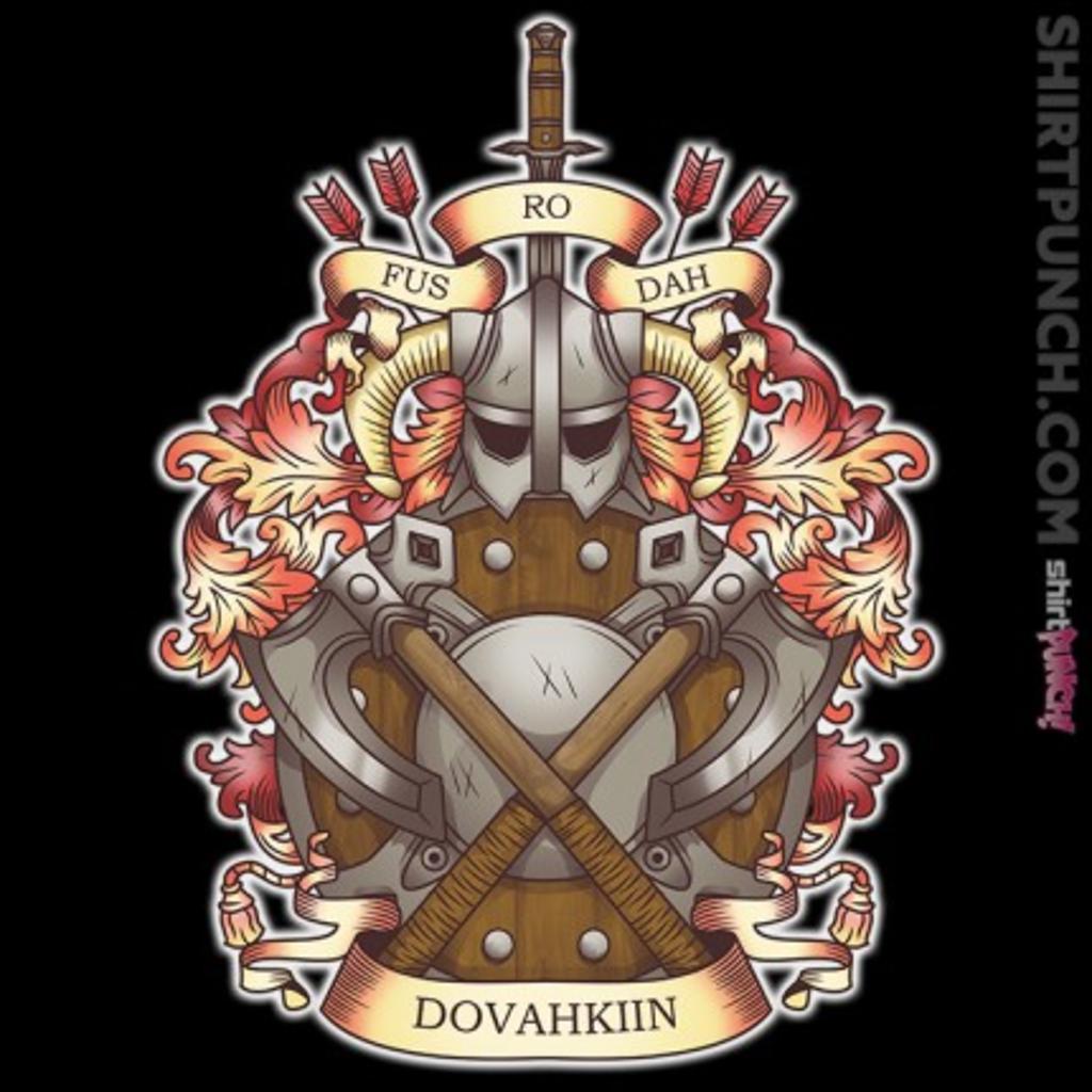 ShirtPunch: Dovah-Crest