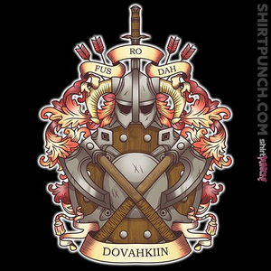 ShirtPunch: Dovah-Crest