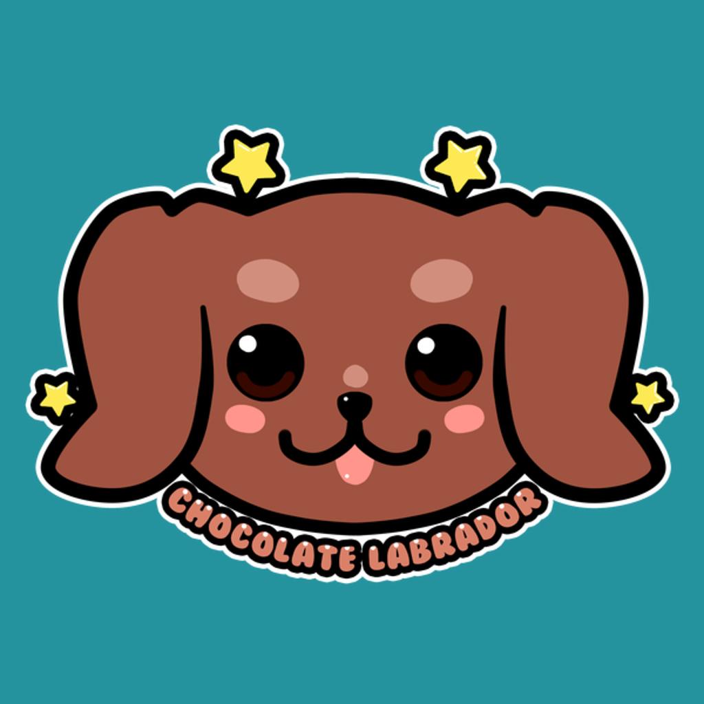 NeatoShop: KAWAII Chocolate Labrador Dog Face