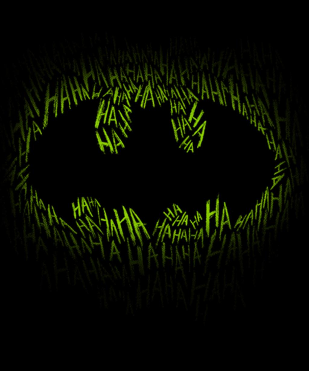 Qwertee: Bat joke