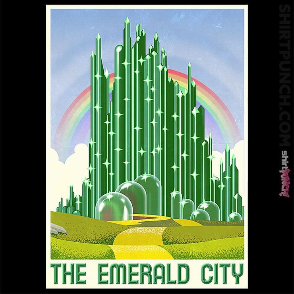ShirtPunch: Visit The Emerald City