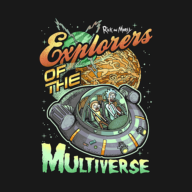TeePublic: Explorers of the Multiverse