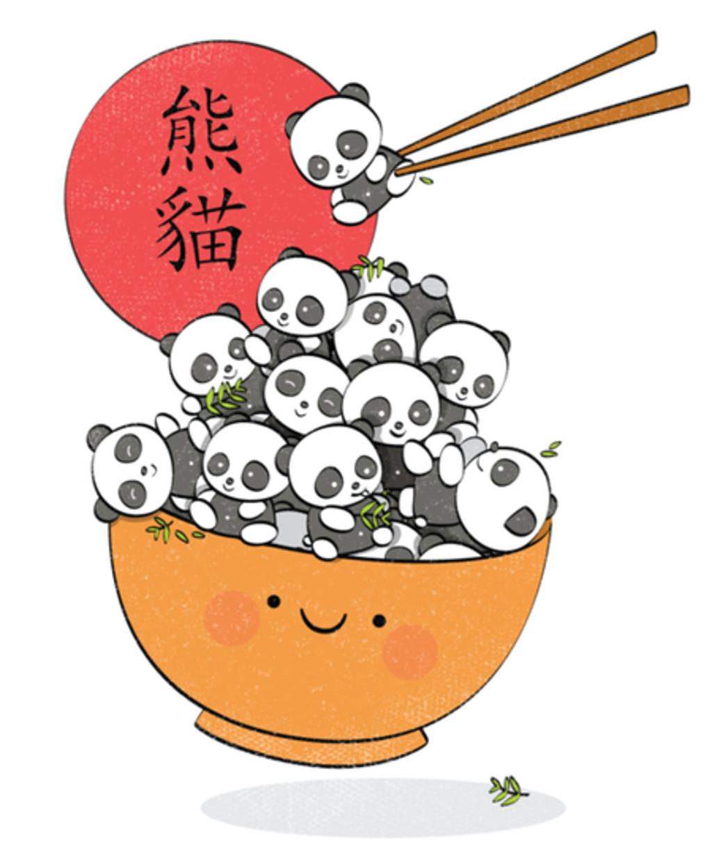 Qwertee: Save the pandas!