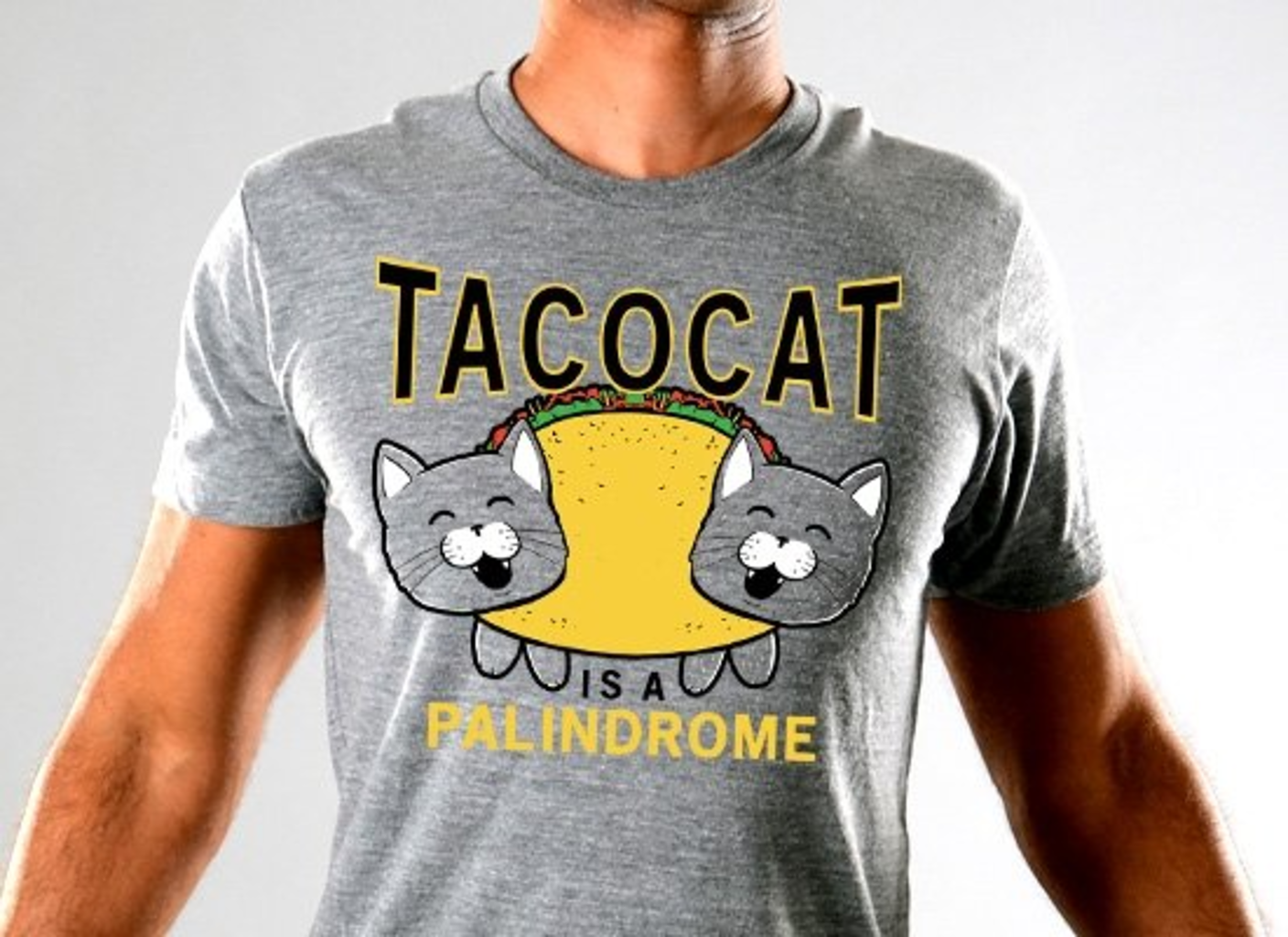 SnorgTees: Taco Cat Limited Edition Tri-Blend
