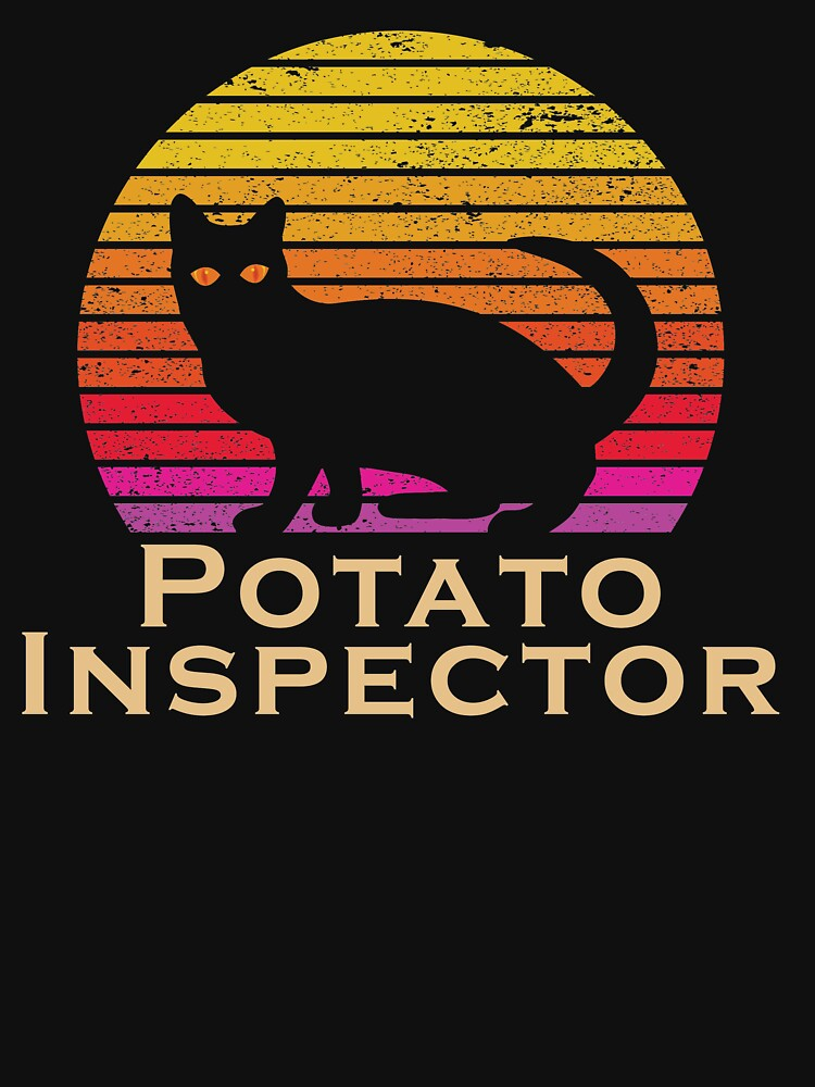 RedBubble: Potato Inspector cat