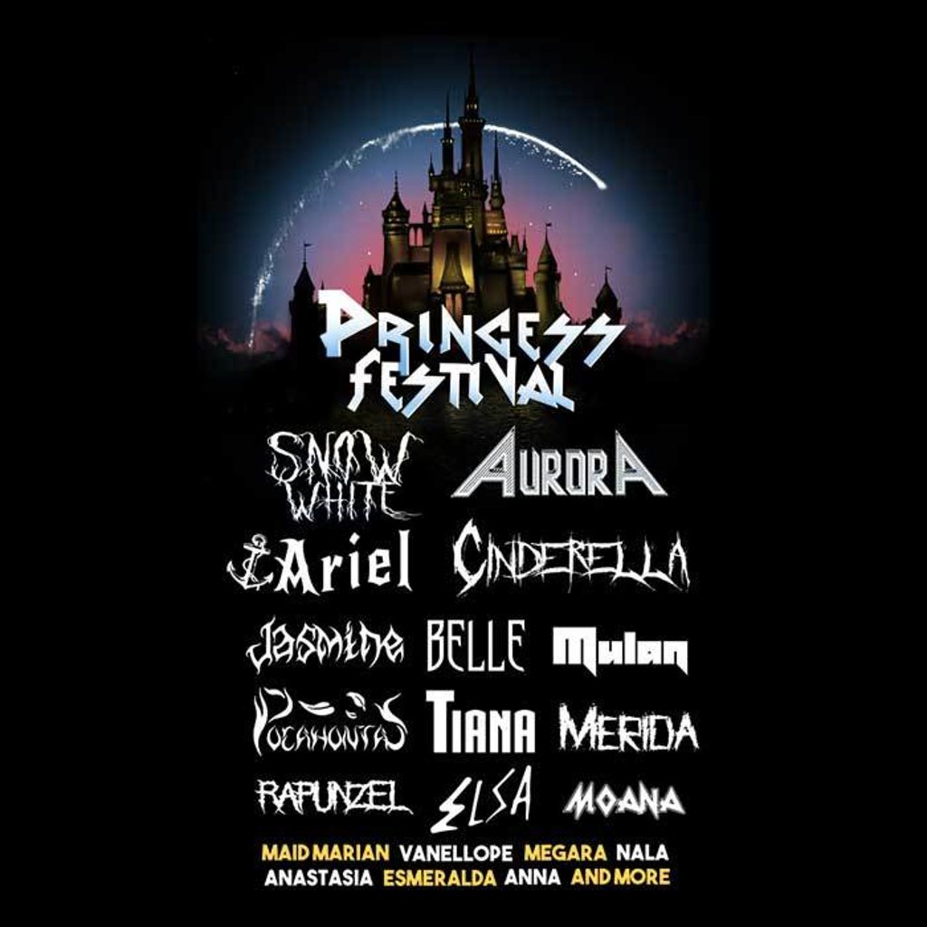 Once Upon a Tee: Princess Festival