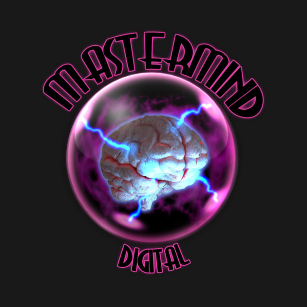 TeePublic: Mastermind Digital T-Shirt