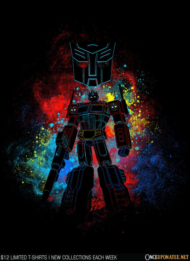 Once Upon a Tee: Autobot Art