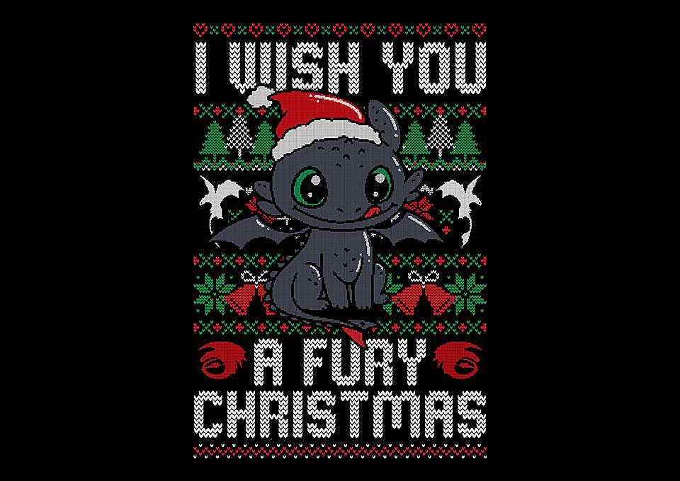 TeeFury: Fury Christmas