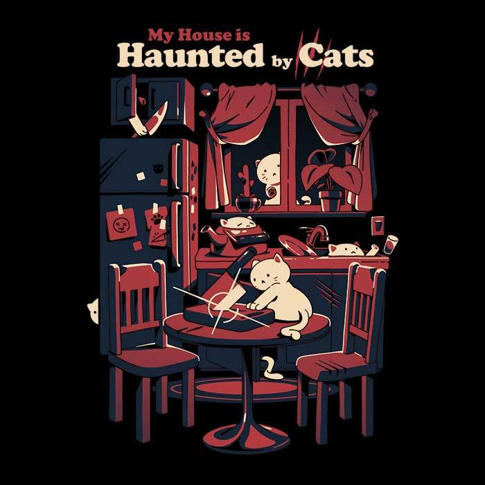 Once Upon a Tee: Haunted by Cats