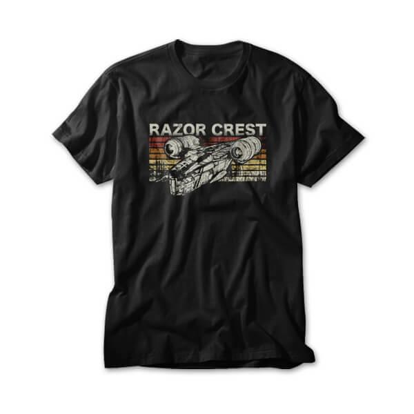 OtherTees: Retro Razor Crest