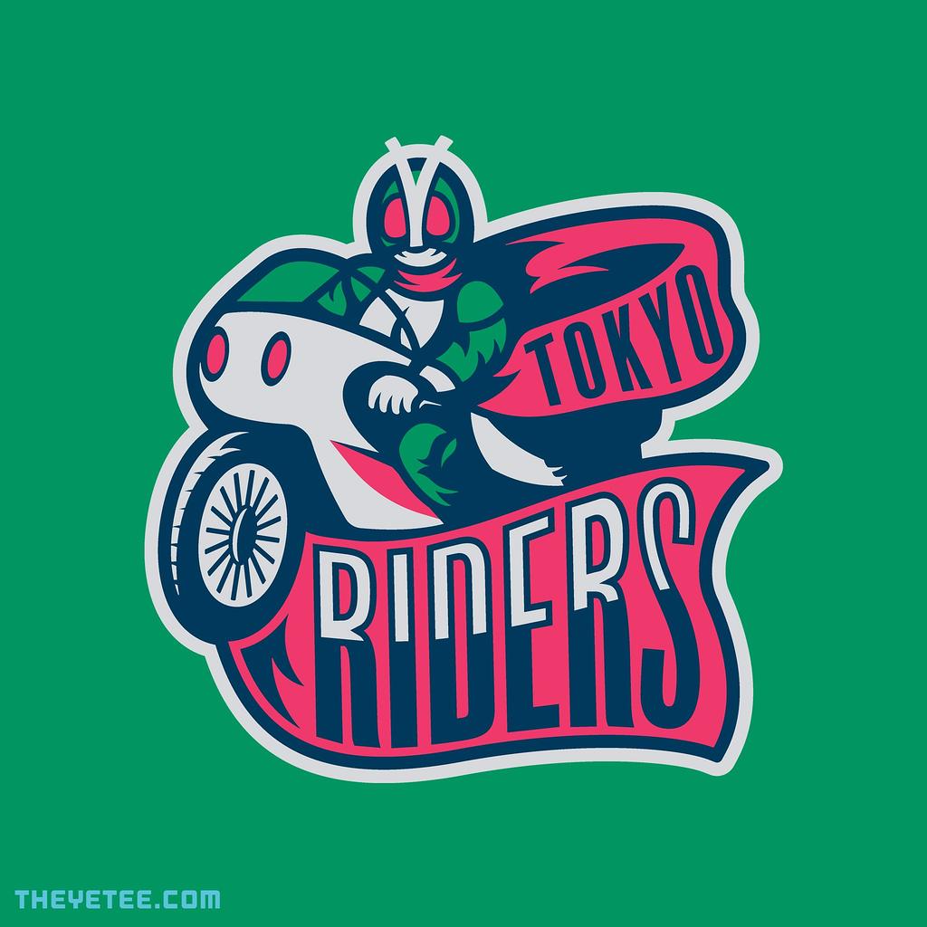 The Yetee: Tokyo Riders