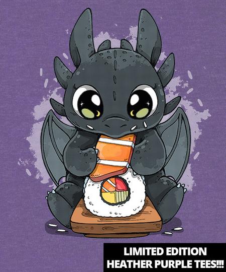 Qwertee: I Love Sushi