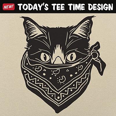 6 Dollar Shirts: Quarantine Cat