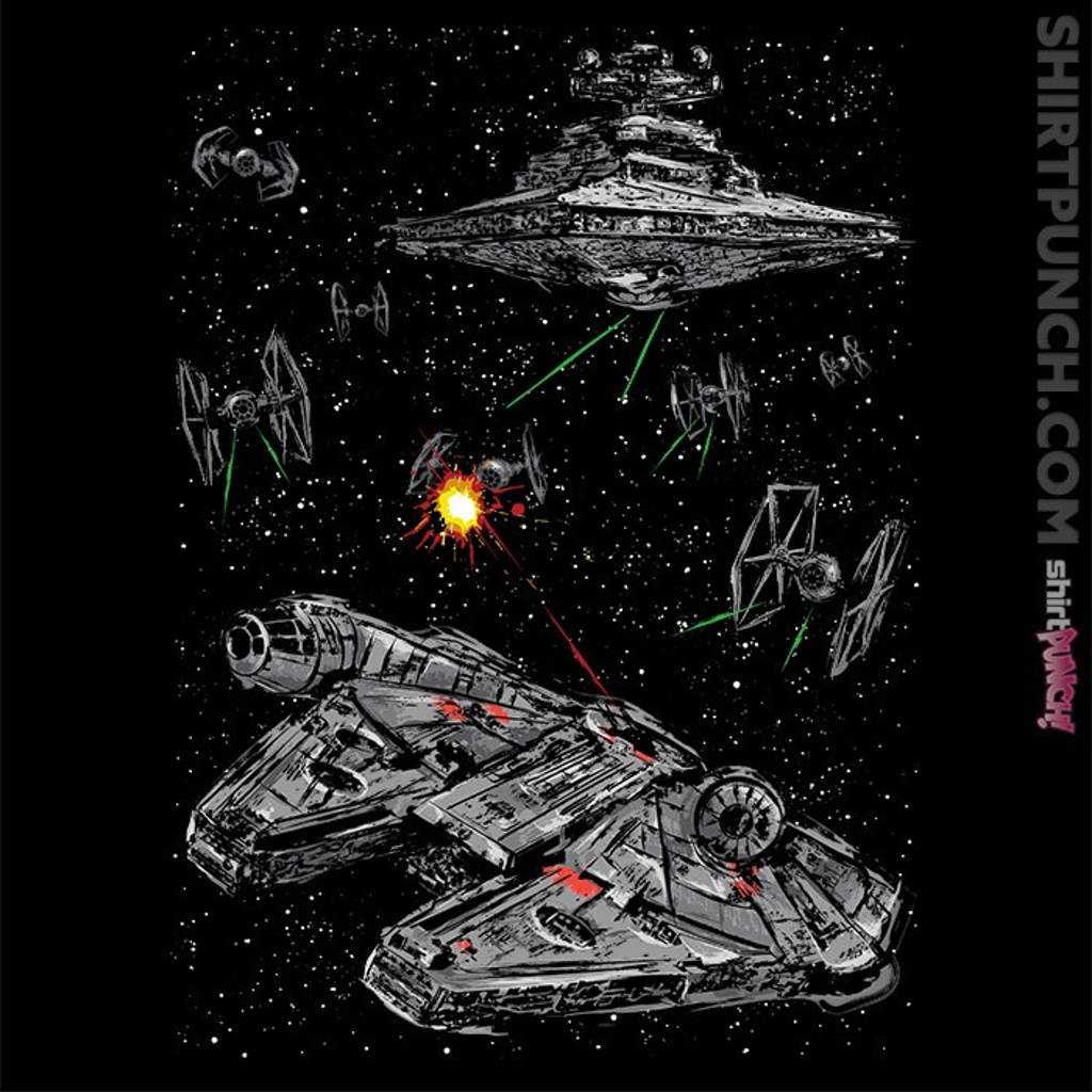 ShirtPunch: Escape The Imperial Navy