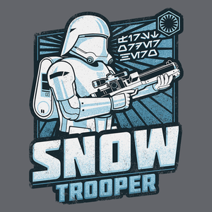 Pop-Up Tee: First Order Hero Snow Trooper