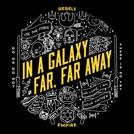 ShirtPunch: A Galaxy Far, Far Away