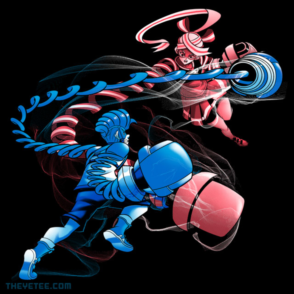 The Yetee: Boxing Match