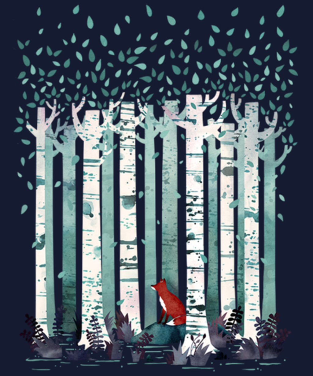 Qwertee: The Birches