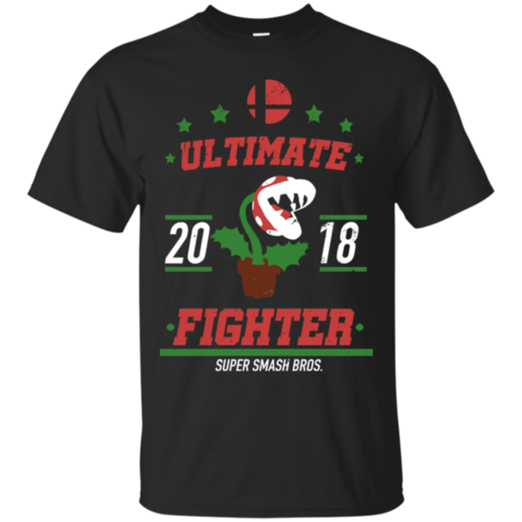 Pop-Up Tee: Ultimate Fighter Piranha Plant