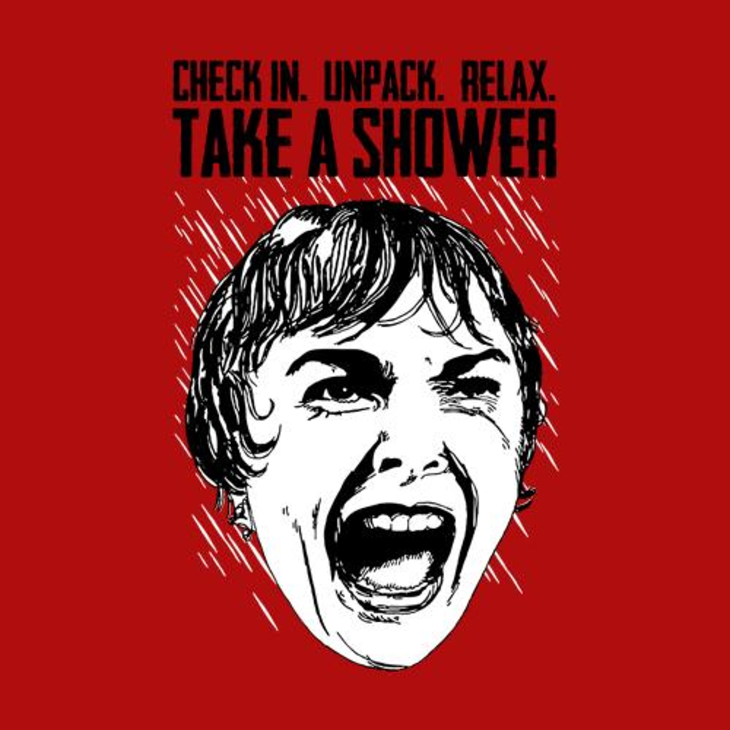 Five Finger Tees: Take A Shower T-Shirt