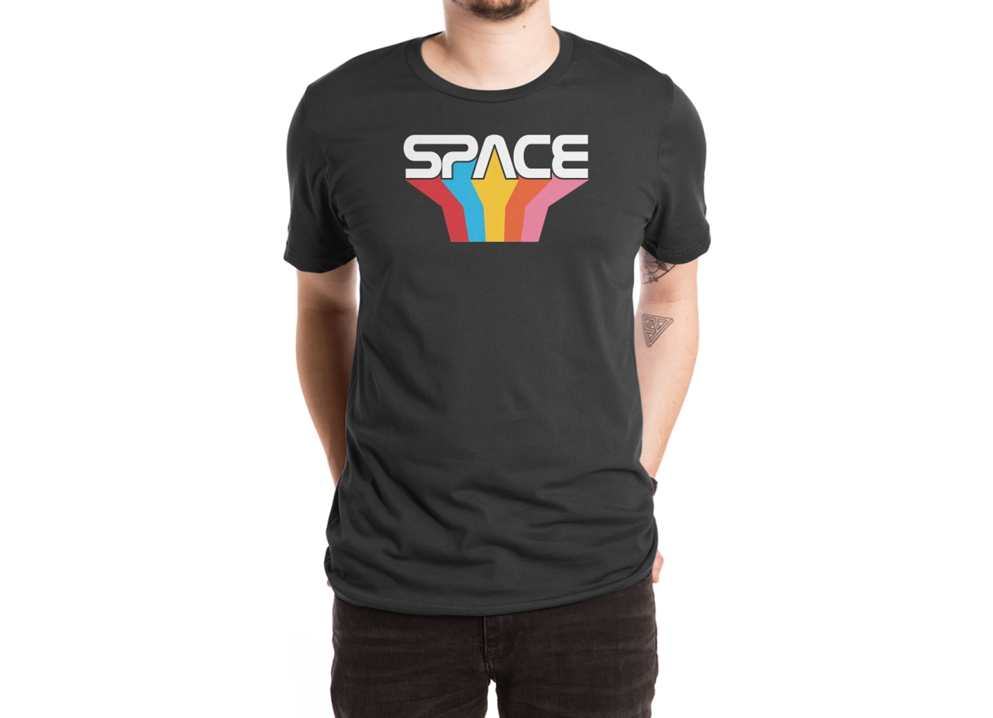 Threadless: Space Text