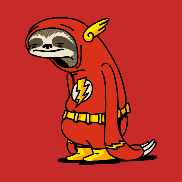 TeePublic: Funny Sloth Shirt The Flash The Neutral