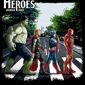 Qwertee: The Heroes