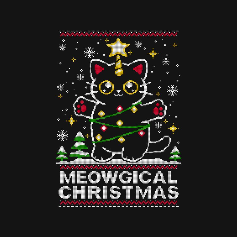 TeeFury: Meowgical Christmas