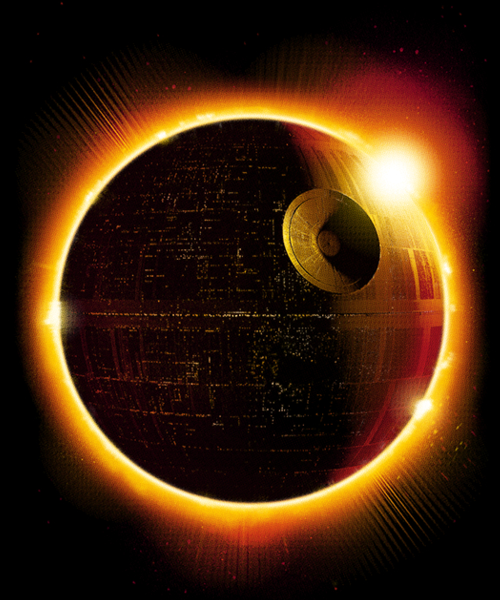 Qwertee: DEATH ECLIPSE