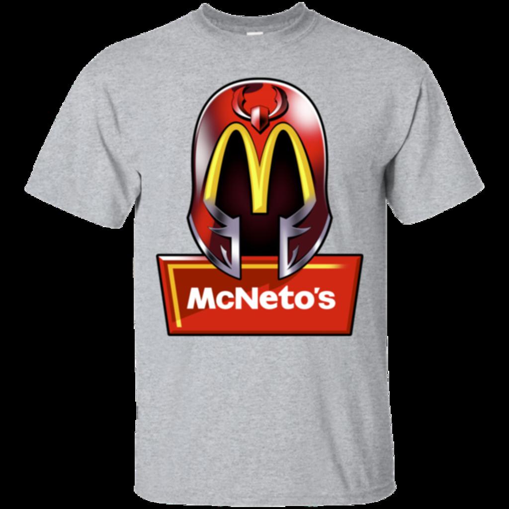 Pop-Up Tee: McNeto's