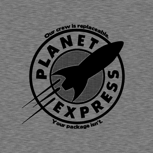 Five Finger Tees: Planet Express T-Shirt