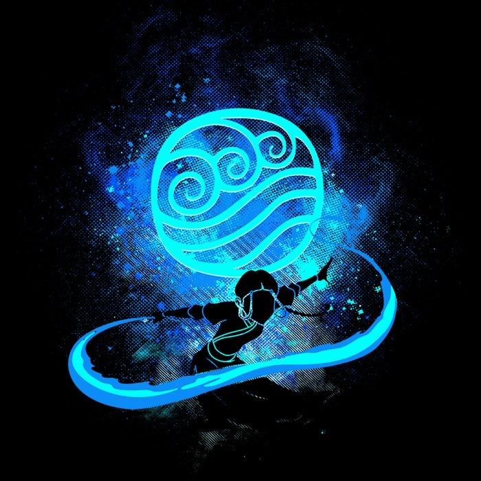Once Upon a Tee: Water Bender Art