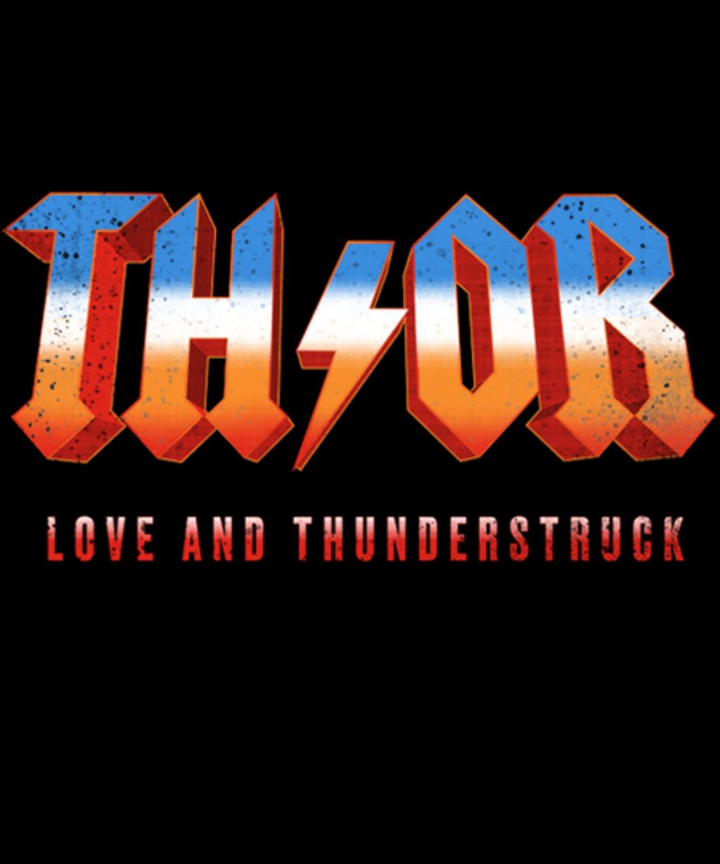 Qwertee: Love and Thunderstruck