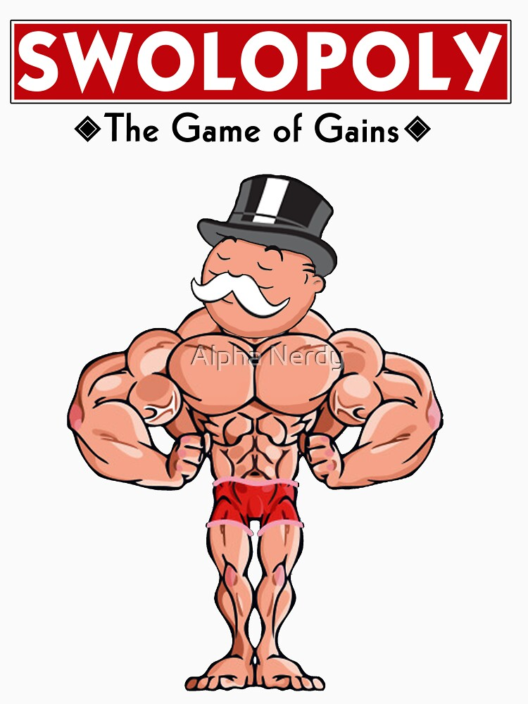 RedBubble: Swolopoly: The Game of Gains