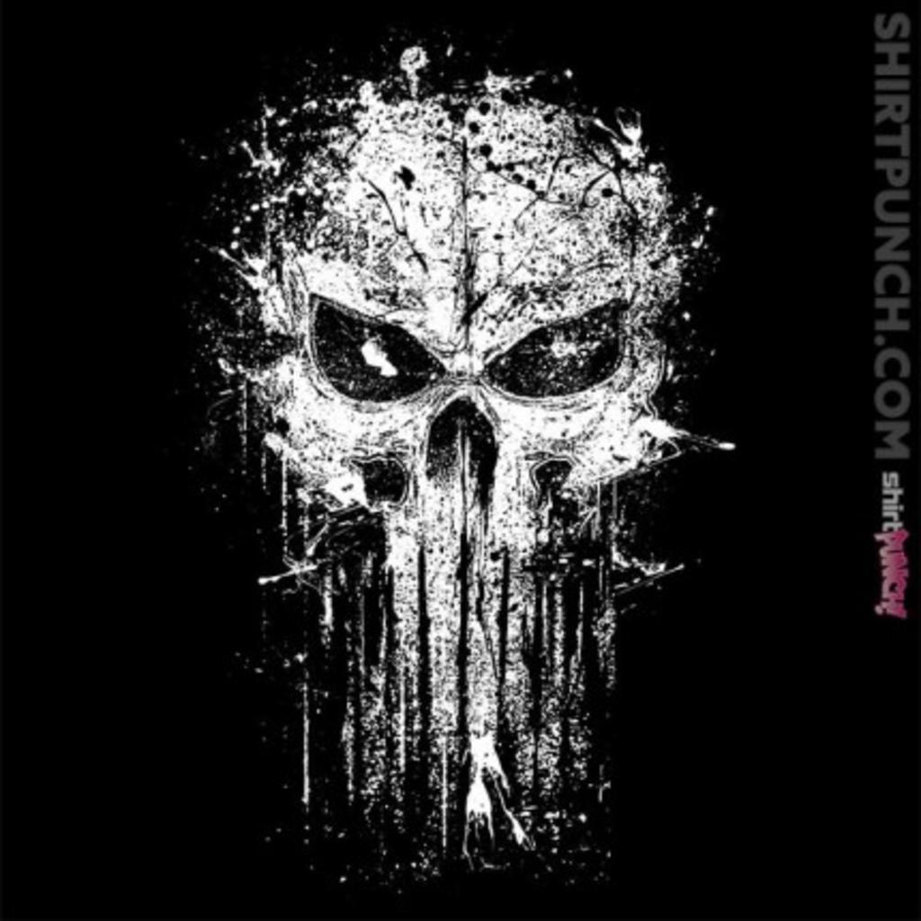 ShirtPunch: Splatter Skull