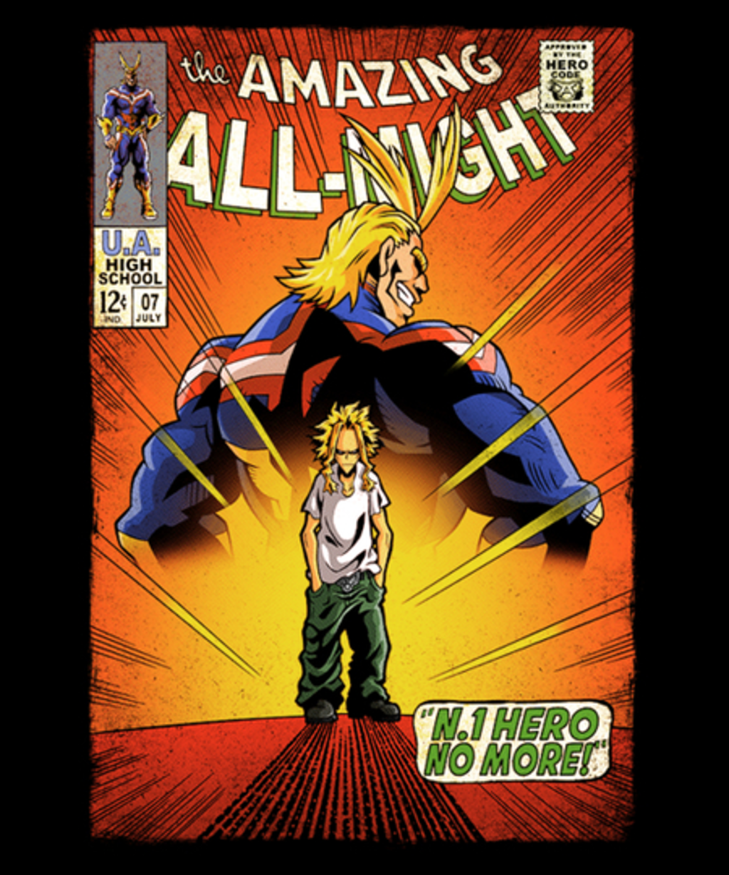 Qwertee: The Amazing All-Might