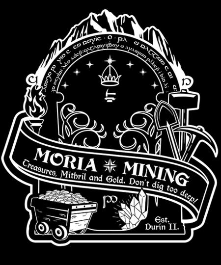 Qwertee: Moria Mining