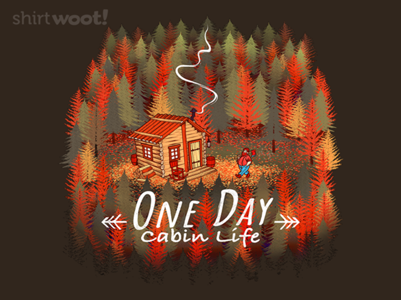 Woot!: One Day, Cabin Life
